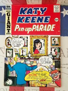 HIGH GRADE Katy Keene Pin-Up Parade #6 VINTAGE 1959 Paper Dolls COMPLETE ARCHIE