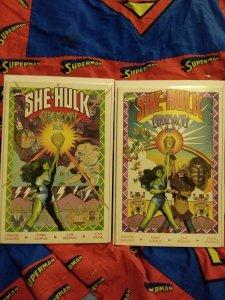 She-Hulk Ceremony Part 1&2 NM