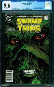SWAMP THING #49 CGC 9.6 1986-Justice League Dark- 1240659001