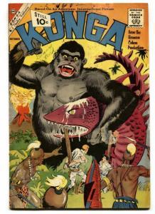 KONGA #3 1961-CHARLTON-STEVE DITKO-VG+