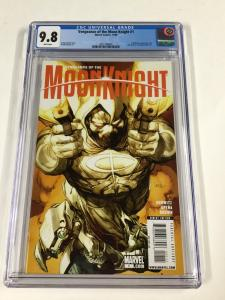 Vengeance Of The Moon Knight 1 Cgc 9.8 White Pages
