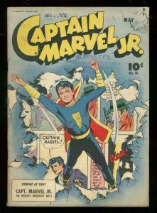 CAPTAIN MARVEL JR #30 1945-FAWCETT COMICS-MAC RABOY CVR FN-