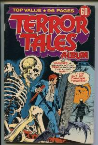 TERROR TALES ALBUM #4 1977-CD COMICS AUSTRALIA-ALEX TOTH-GIANT 98 PAGE ISSUE-fn+