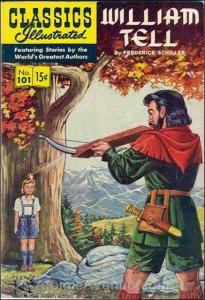 Classics Illustrated (Gilberton) #101 VG; Gilberton | low grade comic - save on