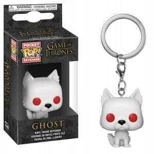 Pocket POP Game Of Thrones S9 Ghost Keychain - New!