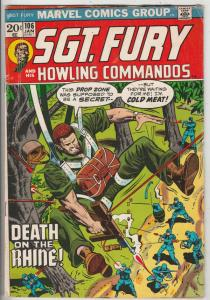 Sgt. Fury and His Howling Commandos #106 (Jan-73) VG Affordable-Grade Sgt. Fu...