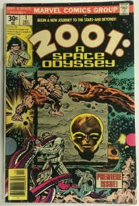 2001 A SPACE ODYSSEY#1 FN/VF 1976 JACK KIRBY MARVEL BRONZE AGE COMICS