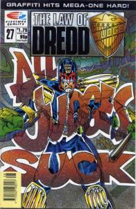 Law of Dredd, The #27 FN; Fleetway Quality | save on shipping - details inside
