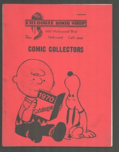 Cherokee Book Shop Collector Comic Catalog 1970- Burt Blum-Red cover edition-...