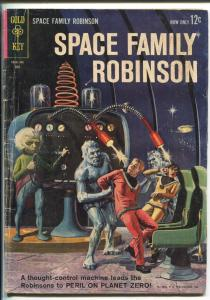 SPACE FAMILY ROBINSON #3 1963-GOLD KEY-LOST IN SPACE-FLYING SAUCER-vg minus
