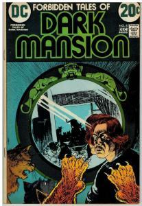 FORBIDDEN TALES OF DARK MANSION (1972-1974) 8 FN COMICS BOOK