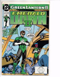 DC Comics Green Lantern EMERALD DAWN II  #2 Keith Giffen (story); Gerard Jones