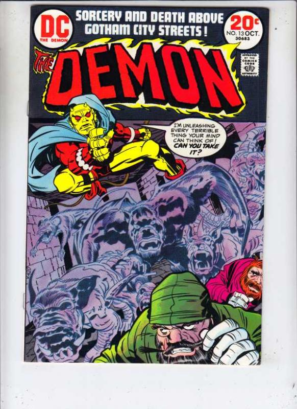Demon, The #13 (Oct-73) NM Super-High-Grade Jason Blood, Merlin