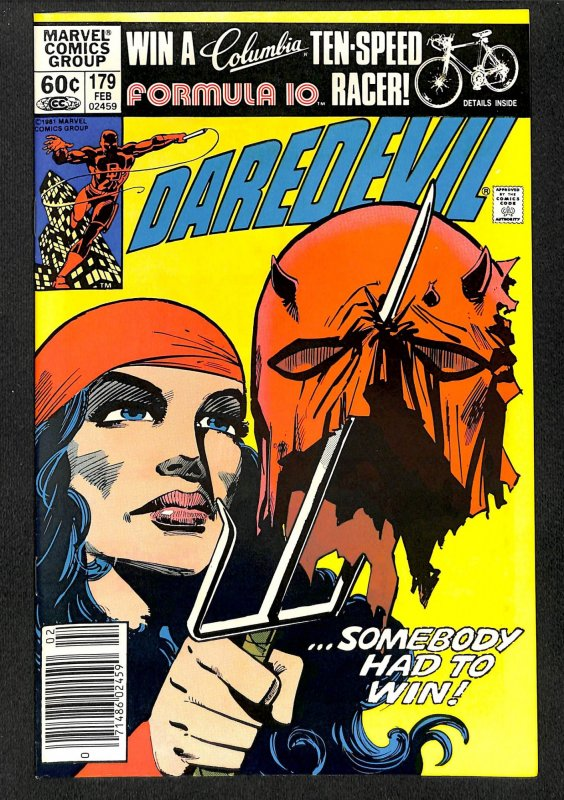 Daredevil #179 VF+ 8.5 Marvel Comics