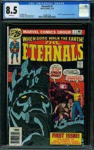 Eternals #1 (Marvel, 1976) CGC 8.5
