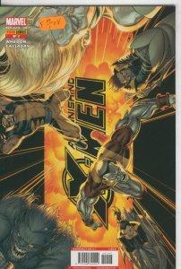 Astonishing X Men volumen 2 numero 07
