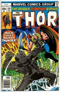 THOR #265 VF/NM God of Thunder Sinnott Simonson 1966 1977, more Thor in store