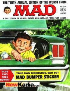 Worst From Mad #10, VG+ (Stock photo)