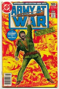 Army At War #1 1978- Joe Kubert- DC comics F/VF
