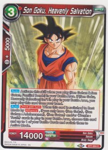 Dragon Ball Super CCG - Assault on the Saiyans - Son Goku Heavenly Salvation