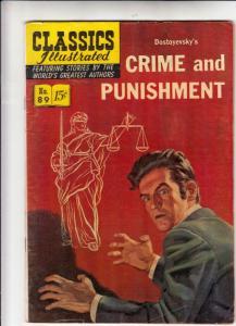 Classics Illustrated #89 (Nov-51) VG/FN Mid-Grade