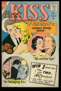 FIRST KISS #13 1960 CHALRTON COMICS ROMANCE LOVE VG