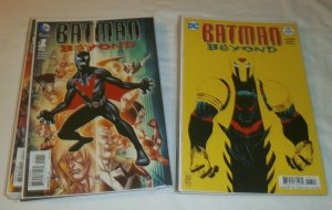 Batman Beyond V5 (2015) #1-15 V6 #1-6, Rebirth #1 (set of 22) Jurgens Chang