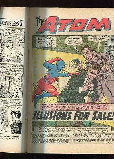 THE ATOM  #15  (1966)  6.5  (FINE+)  OW/WH PAGES  VERY NICE COPY