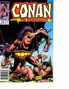 Lot Of 2 Marvel Comic Books Conan Barbarian #195 and Fantastic Four #312 ON3