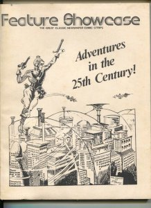 Feature Showcase #1 1974-1st issue-Reprints Buck Rogers Adventures in The 25...