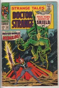 Strange Tales #162 (Nov-67) FN+ Mid-High-Grade Nick Fury, Dr. Strange