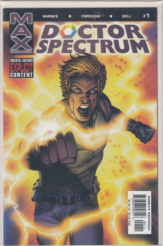 Doctor Spectrum (JP) #1 (2004)