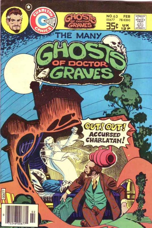 Many Ghosts of Doctor Graves, The #63 (Feb-78) VF/NM High-Grade Doctor Graves