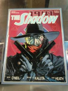 The Shadow 1941 Hardcover Marvel Graphic Novel