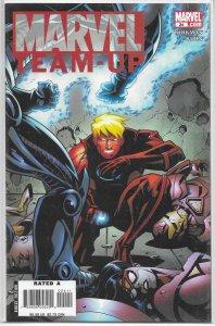 Marvel Team-Up   vol. 3   #24 FN/VF (Freedom Ring 5)