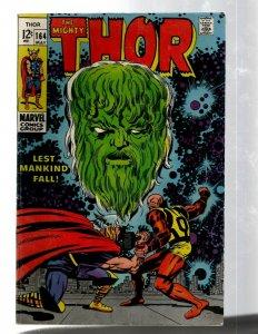 Mighty Thor # 164 VF- Marvel Comic Book Loki Odin Asgard Sif Avengers Hulk RB8