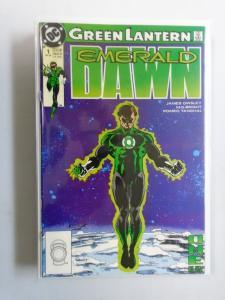 Green Lantern Emerald Dawn Set I+II, 12 Different, 8.0 VF (1989+1891)