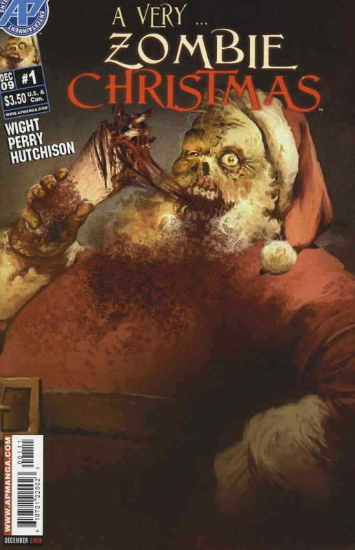 Very Zombie Christmas, A #1 VF/NM; Antarctic | save on shipping - details inside