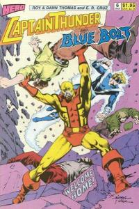 Captain Thunder and Blue Bolt (1987 series) #6, VF+ (Stock photo)