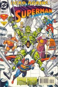 Superman (1987 series) #95, VF+ (Stock photo)