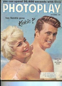 Photoplay-Edd Byrnes-Sandra Dee-Princess Grace-Fabian-Vic Damone-Sept-1959