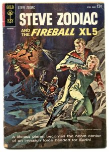 Steve Zodiac and the Fireball XL5 #1 1964- Dell comic G