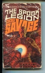 DOC SAVAGE-THE SPOOK LEGION-#16-ROBESON-G- JAMES BAMA COVER- G