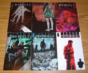 Memoir #1-6 VF/NM complete series - mystery & memory loss - ben mccool set lot