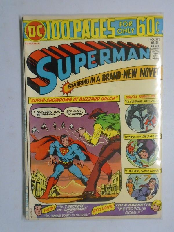 DC Superman # 278 5.0 (1974)