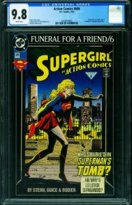 ACTION #686 CGC 9.8 Supergirl-2020819003