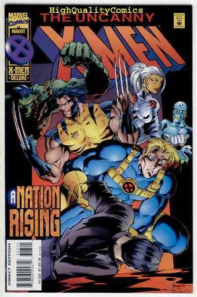 X-MEN #323, NM+, Deluxe, Wolverine, Rogue, Scott Lobdell, more in store