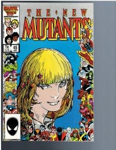 The New Mutants #45 (1986)