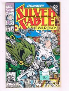 Silver Sable & The Wild Pack #5 VF Marvel Comics Comic Book DE16