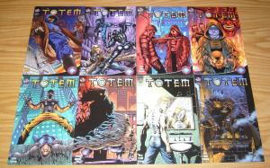 Totem #1-8 VF/NM complete series - mario gully - big city comics set lot